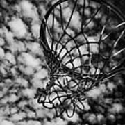 Basketball Heaven Art Print