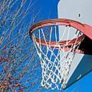 Basketball Net Art Print