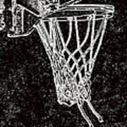 Basketball Years Print by Karol Livote