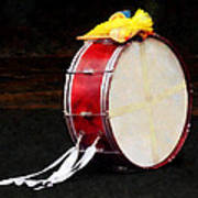 Bass Drum At Parade Art Print