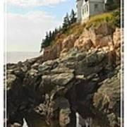 Bass Harbor Head Lighthouse Print by Mike McGlothlen