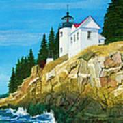 Bass Harbor Lighthouse Art Print
