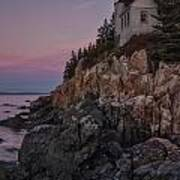 Bass Head Lighthouse Sunrise Art Print