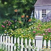 Bass River Cottage Art Print