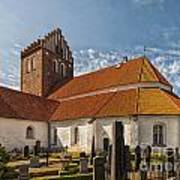 Bastad Church Art Print