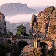 Bastei, Saxonian Switzerland National Art Print