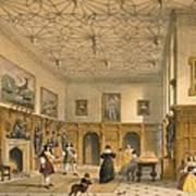 Bat Game In The Grand Hall, Parham Art Print