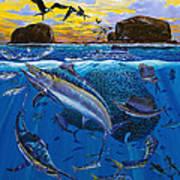 Bat Island Off00139 Art Print