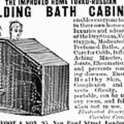 Bath Cabinet, 1897 Art Print