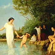 Bathers Art Print