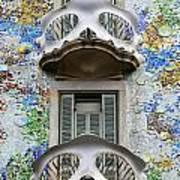 Batllo Balconies Art Print