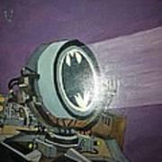 Batman Beam Art Print