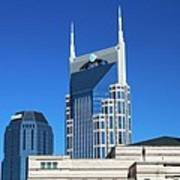 Batman Building And Nashville Skyline Art Print