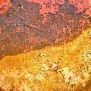 Battered To Rust Art Print