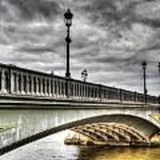 Battersea Bridge London Art Print