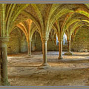 Battle Abbey Cloisters Art Print