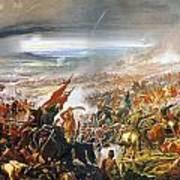 Battle Of Avay Art Print