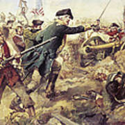 Battle Of Bennington Art Print