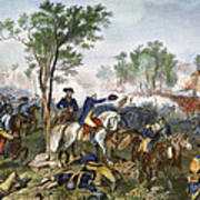 Battle Of Eutaw Springs Art Print