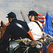 Battle Of Franklin - 2 Art Print