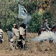 Battle Of Franklin - 3 Art Print