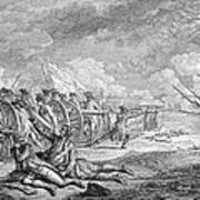 Battle Of Lexington, April 19th 1775, From Recueil Destampes By Nicholas Ponce, Engraved Art Print