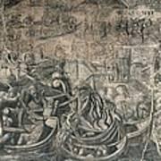 Battle Of M�hlberg Charles Vs Imperial Art Print
