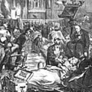 Battle Of Sedan, 1870 Art Print