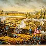 Battle Of Stones River Art Print