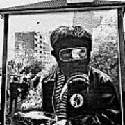 Battle Of The Bogside Mural II Art Print