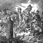 Battle Of The Camel, 656 Art Print