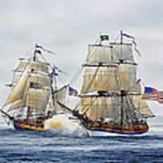Battle Sail Art Print