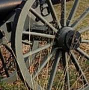 Battlefield Cannon  Art Print
