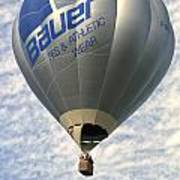 Bauer Ballon Art Print