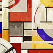 Bauhaus Rectangle Three Art Print