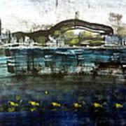 Bay Blues 006 Art Print