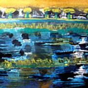 Bay Blues 182 Art Print