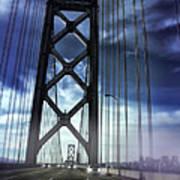 Bay Bridge Art Print