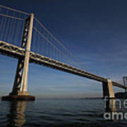 Bay Bridge Noir Art Print