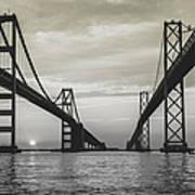 Bay Bridge Strong Art Print