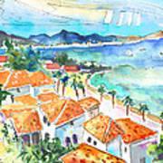 Bay Of Saint Martin Art Print