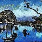Bay View Morro Bay California Art Print