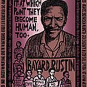 Bayard Rustin Art Print