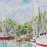 Bayou La Batre Art Print