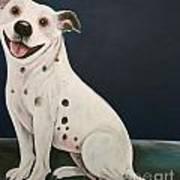 Baz The Dog Art Print