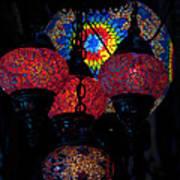 Bazaar Lights Art Print