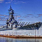 Bb-60 Uss Alabama Art Print