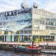 Bbc Scotland Broadcasting Centre Glasgow Art Print