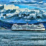 B.c. Ferries Hdr Art Print
