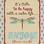 Be Happy Art Print